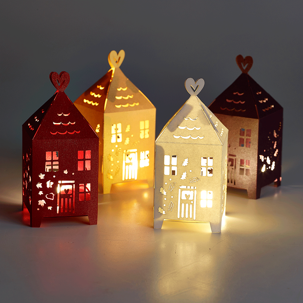 Warm White LED Buttonlite And Lights For Paper Lanterns
