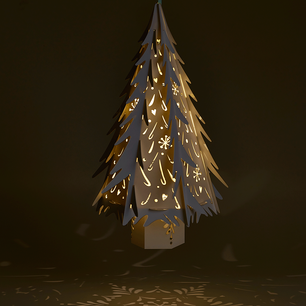 White Christmas Tree Decorations Uk