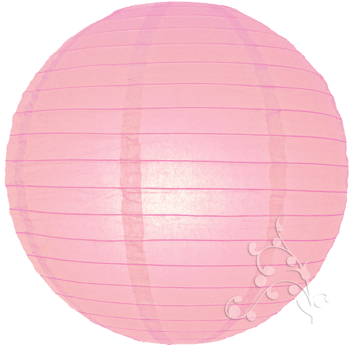 14 even ribbed pink chinese lantern. Black Bedroom Furniture Sets. Home Design Ideas