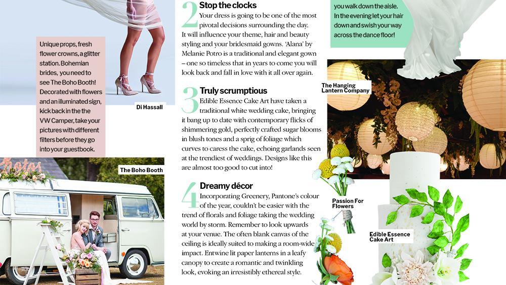 Wedding Ideas Magazine declare Lanterns a Trend!