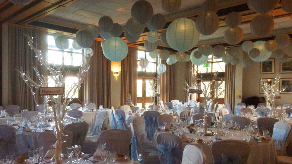Hanging Lanterns Transform Barnham Broom Hotel By Our