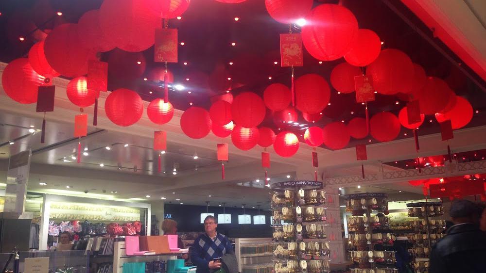 Harrods celebrates Chinese New Year | Hanging Lantern Company