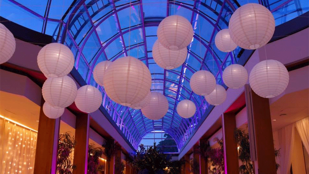Wedding Lanterns at The Hurlingham Club - London