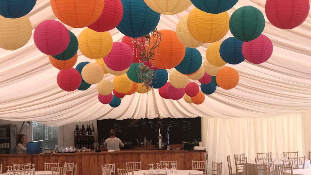 Muggeridge Farm Wedding Lanterns