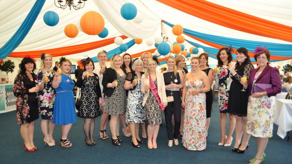Plumpton Racecourse celebrates with coloured lanterns