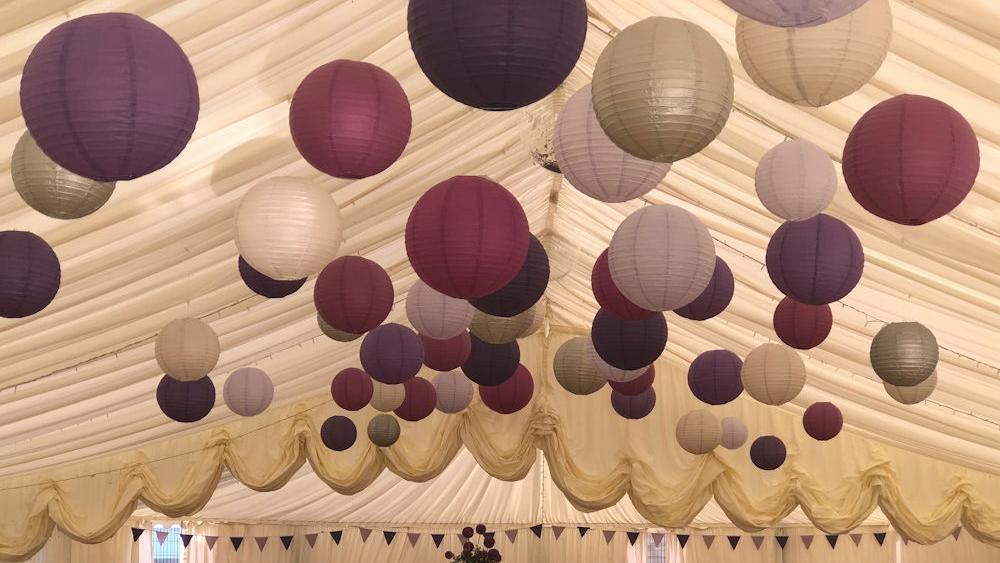 Putney High School use Purple and Silver Lanterns