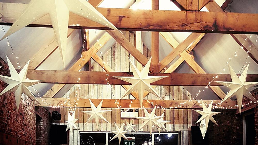 Star lanterns offer alternative barn wedding decoration hanging star lanterns offer alternative barn wedding decoration junglespirit Images