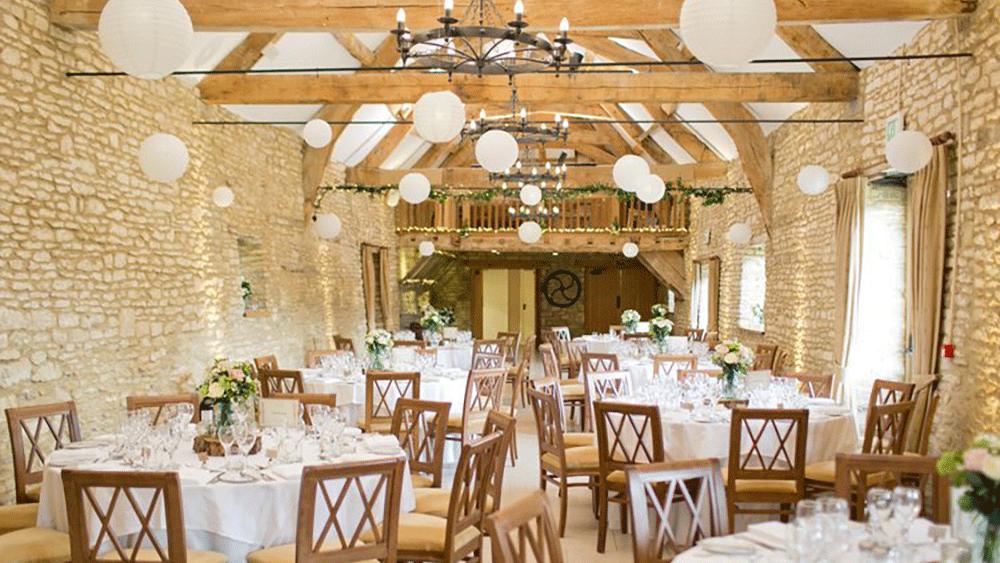Sophisticated White Wedding Lanterns