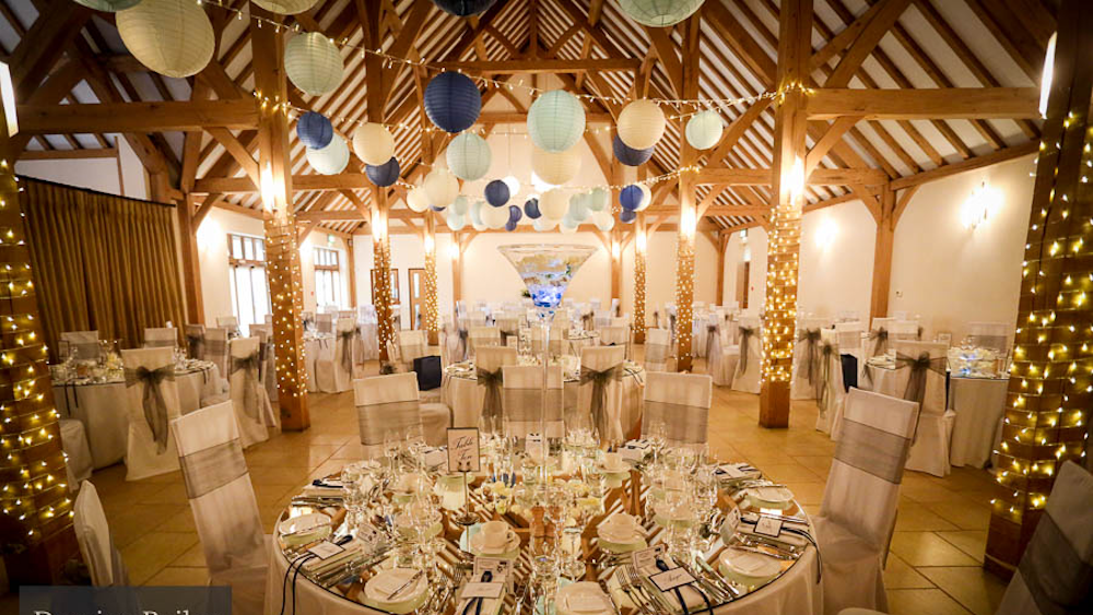 Wedding Breakfast At Converted Barn Venue - Rivervale Barn ...