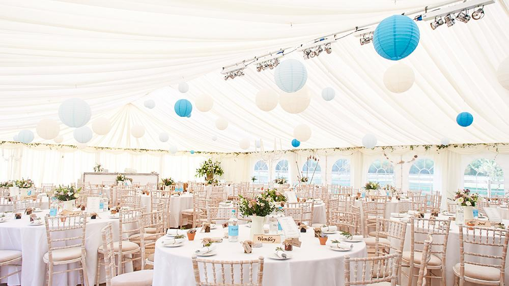 Something Blue For Your Wedding Hanging Lantern Company