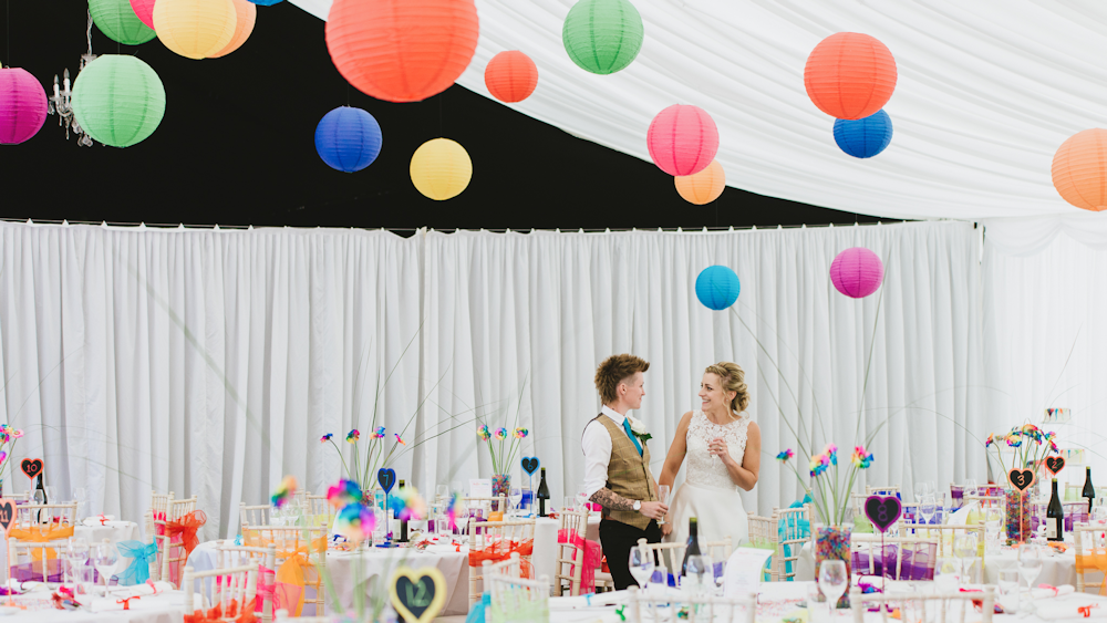 A Paper Lantern Filled Celebration of Marriage Equality