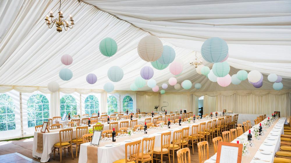 Jess and Joe's Gloucestershire Wedding with Paper Lanterns