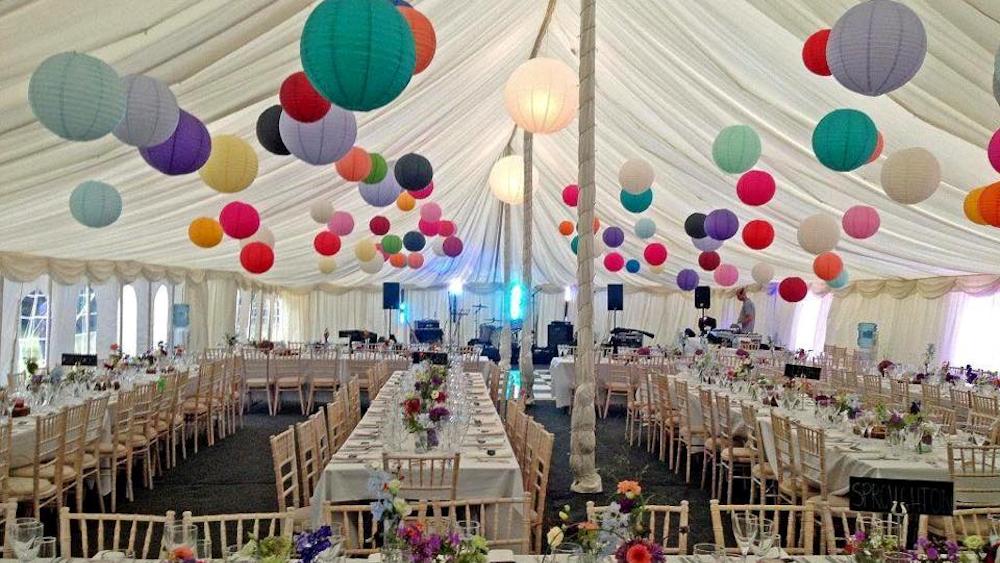Norfolk Mad Hatters Wedding Lanterns