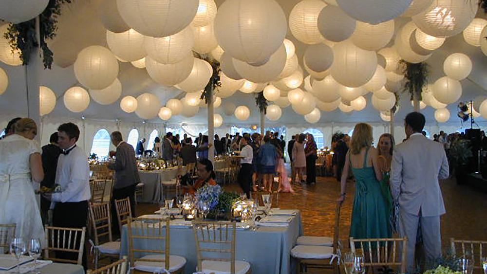 A Sky of Illuminated Paper Lanterns
