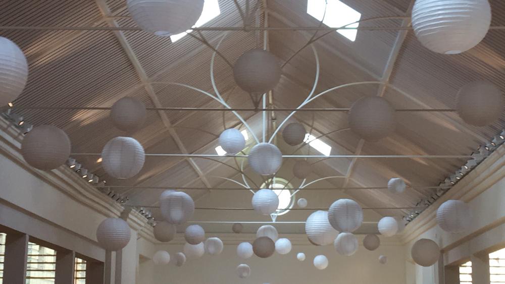 Wedding Lanterns at Holkham Hall