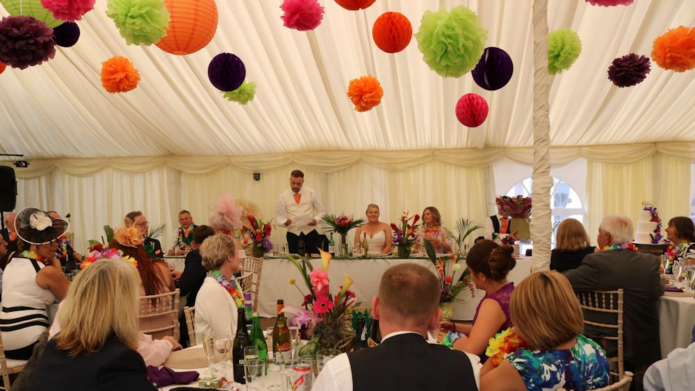 Richmond Marquee Wedding