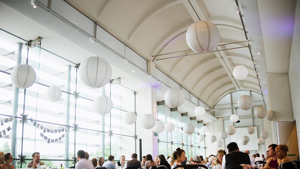 Wedding Lanterns at The Millennium Gallery