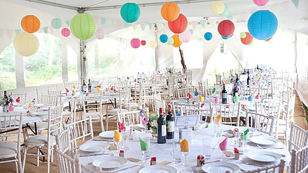 A Truly Colourful Wedding