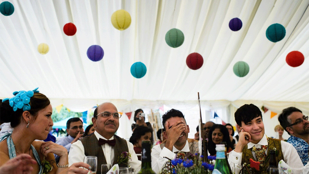 A Country Wedding at Chatsworth House