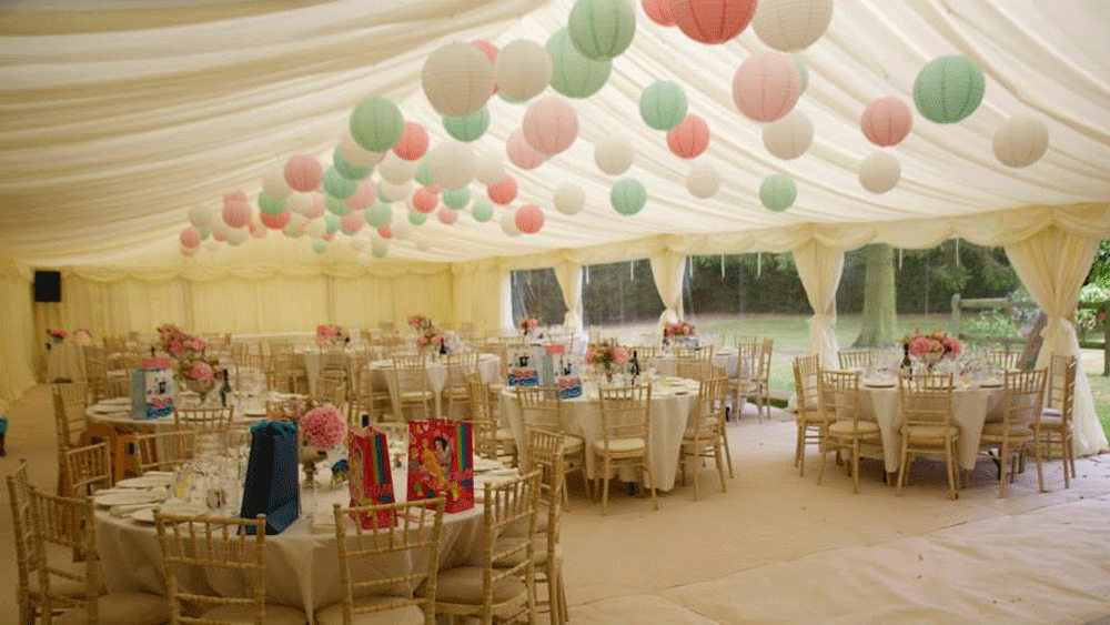 Secret Garden Style Summer Marquee