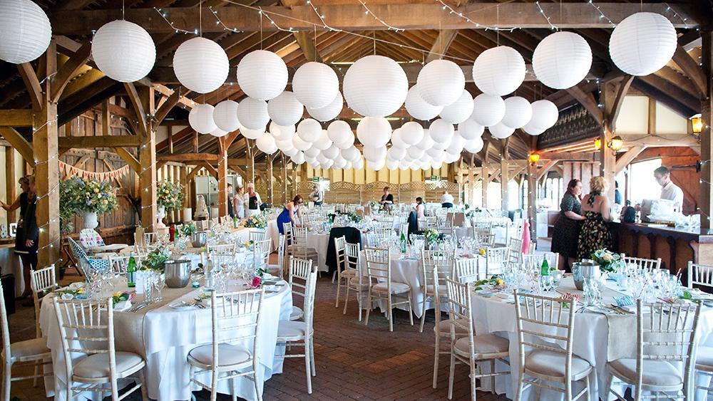 Classic Romantic White Wedding Lanterns | Hanging Lantern Company
