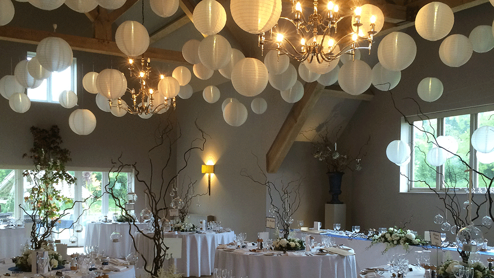 Simplistic and Stunning Ivory Lanterns | Hanging Lantern Company