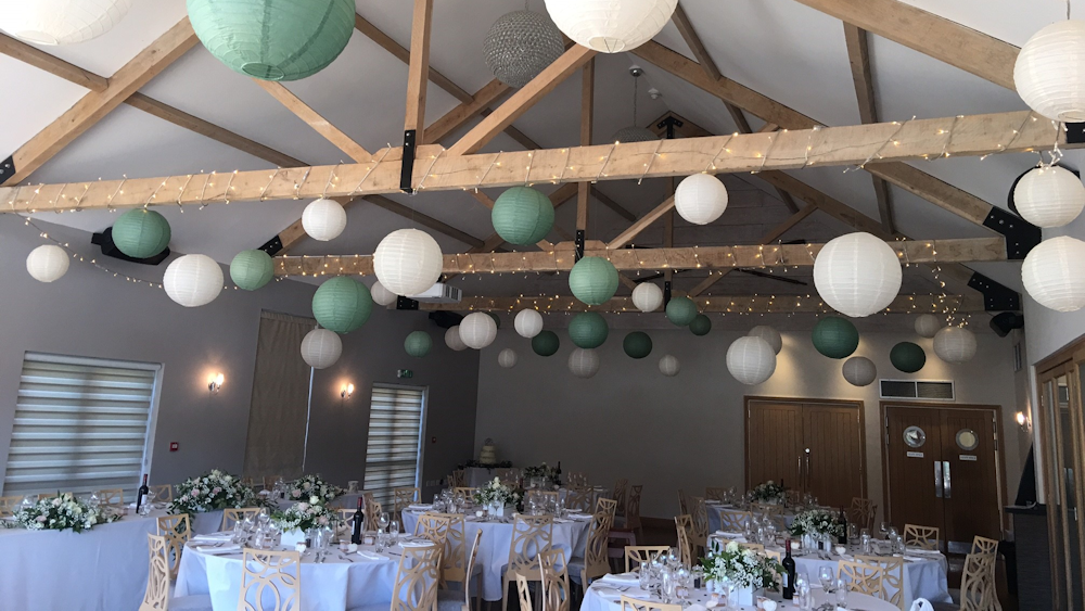 The Boathouse Showcases our Gorgeous Lantern