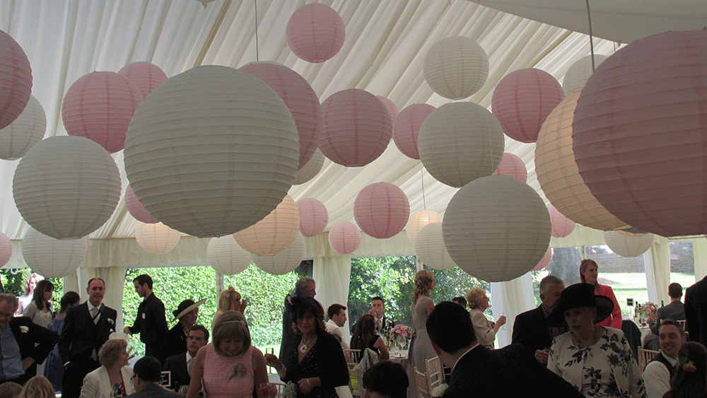 White Paper Lanterns Images