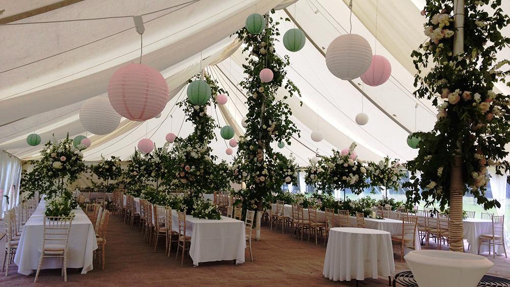 Secret Garden Wedding Lanterns | Hanging Lantern Company