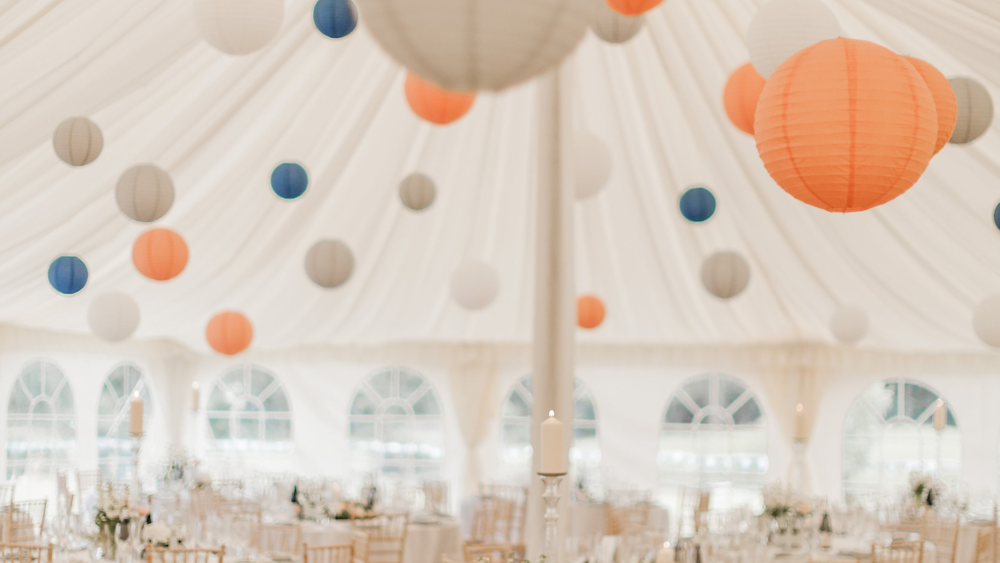 A Mid-Summers Paper Lantern Filled Wedding | Hanging ...