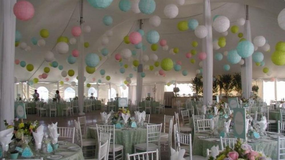 Follow The Trend With Pastel Coloured Lanterns Hanging Lantern Company