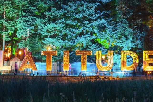 Latitude Festival Lanterns