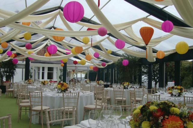 Mehndi wedding lanterns