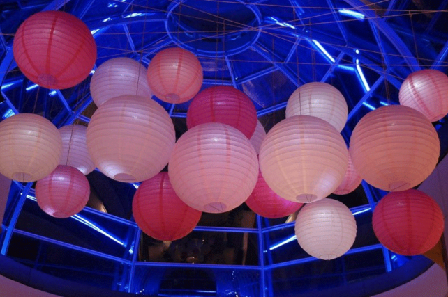 Lanterns at The Hurlingham Club