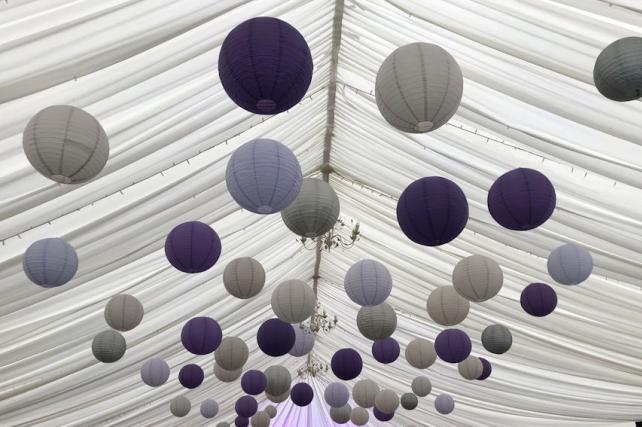 Kingston Bagpuize House Wedding Lanterns