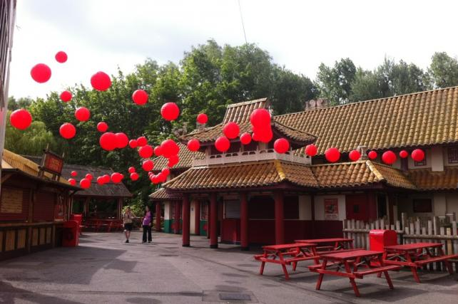 Chessington World of Adventures Red Lanterns