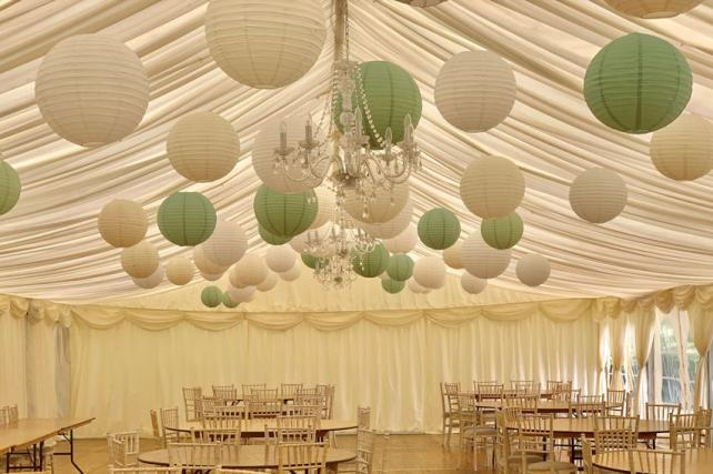 Nettlestead Place Paper Lanterns