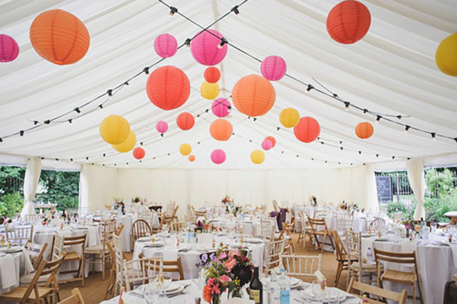 Wedding Lanterns And Inspirational Wedding And Marquee Paper Lantern