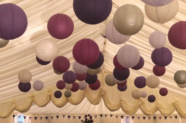 Putney High School Prom Lanterns