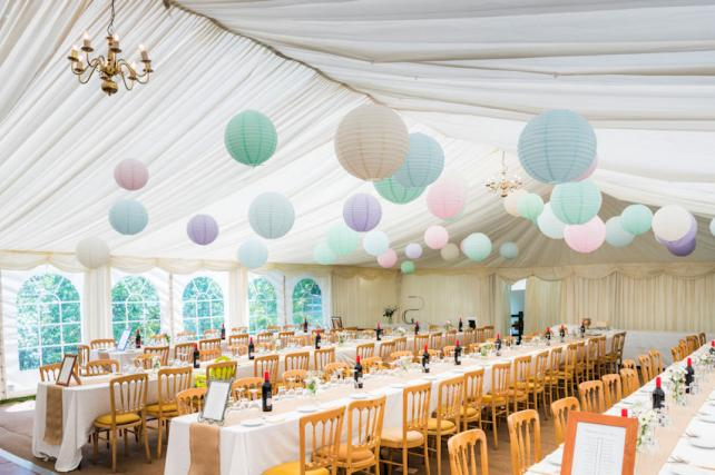 Cotswolds Wedding Lanterns