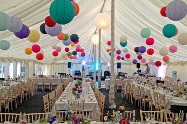 Norfolk Wedding Lantern Installers