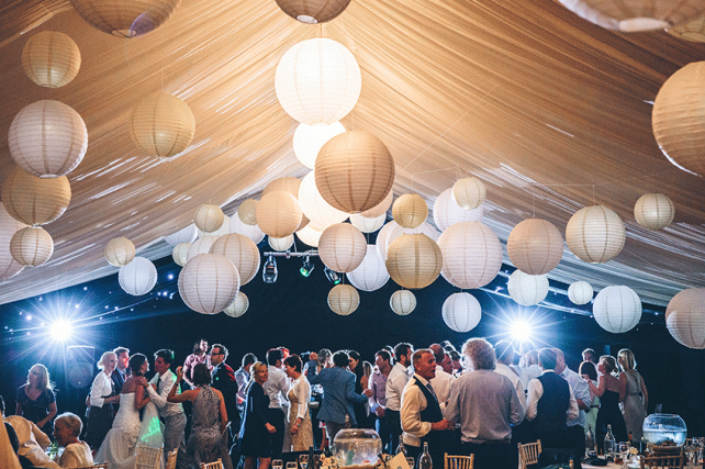 Classic Great Gatsby Wedding Paper Lanterns