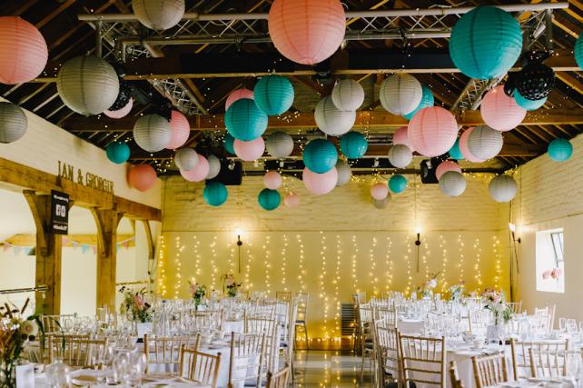 Hautbois Hall Paper Lanterns
