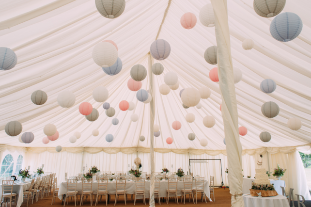 Traditional County Marquees Wedding Lanterns