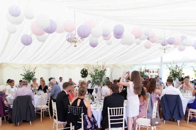 Marquee Lanterns in Gloucestershire