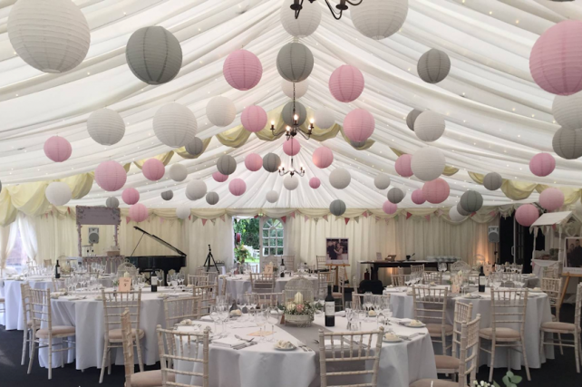 Laura Trott and Jason Kennys Paper Lantern Wedding