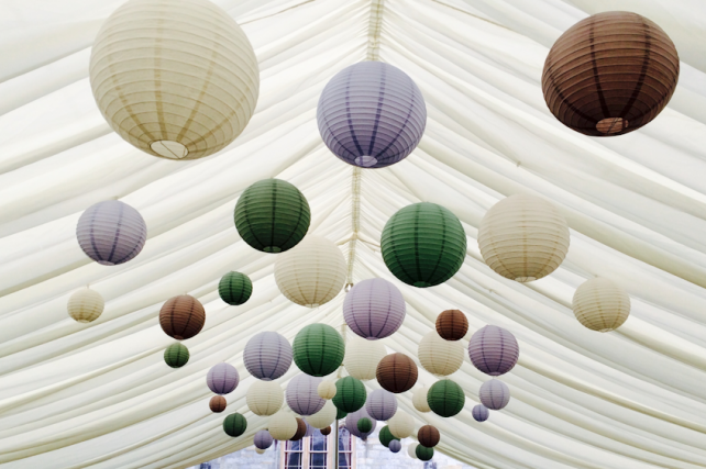 Penshurst Place Wedding Lanterns