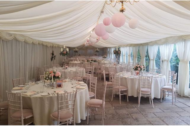 Pretty Pink Marquee Lanterns