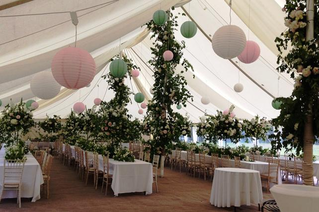 Secret Garden Wedding Lanterns