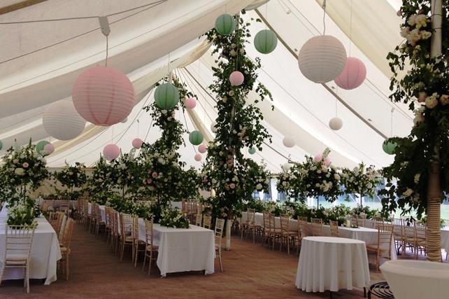 Secret Garden Wedding Lanterns